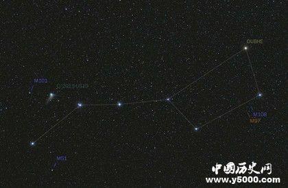 什么是北斗七星_北斗七星的寓意和象征介绍_中国历史网