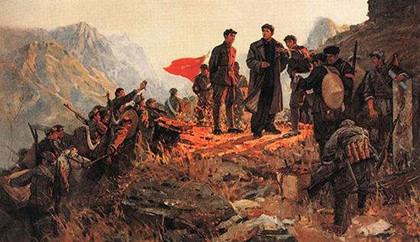 红军长征的时间_红军长征什么时候开始结束的_中国历史网
