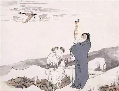 蘇武北海牧羊的故事