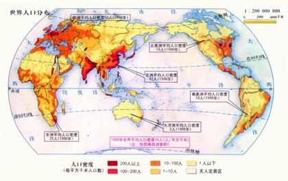 2019世界人口密度排名_世界人口密度排名前20名_中國歷史網