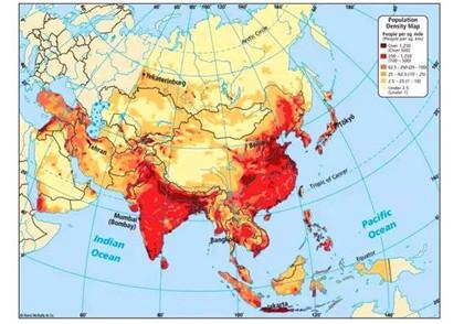 亞洲人口總數約多少億