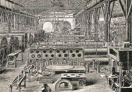 工业革命对英国产生的影响